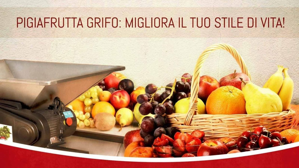 Juices and more … every taste with the products of Grifo