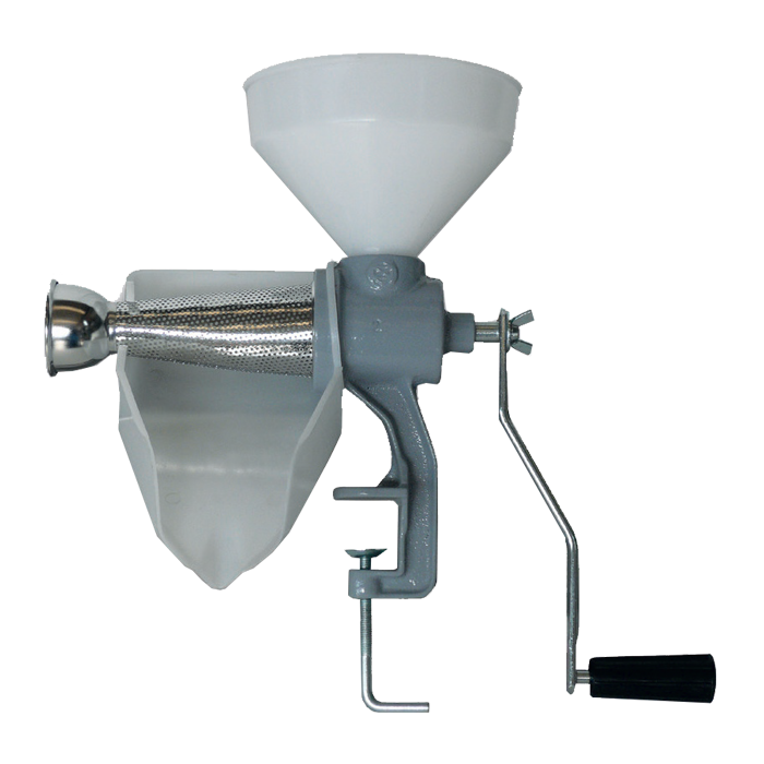 manual tomato machine n2 nylon funnel and pan-sp2man grifo marchetti enology machines