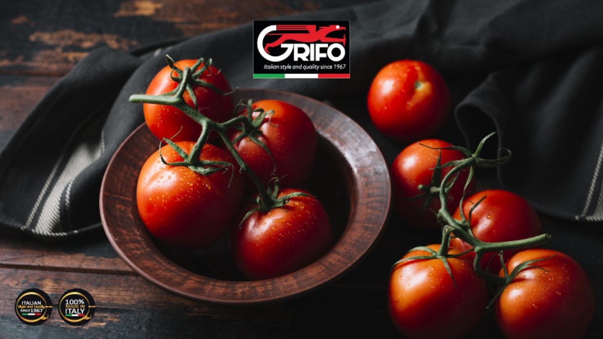 Tomato sauce? Grifo's TOMATO MACHINE will maintain the taste!