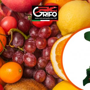 Cider, juice, plenty of vitamins with Grifo's mill for fruit!