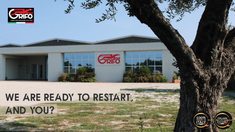 Grifo Marchetti is ready to restart!