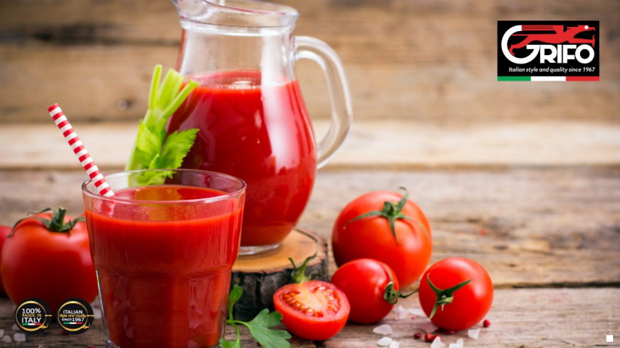 Drinking tomato juice? Discover the reasons with Grifo!