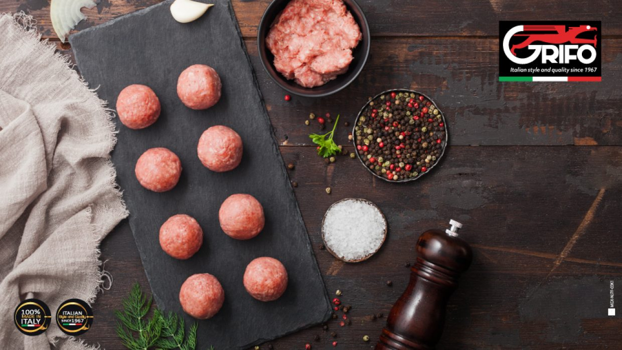 Grandma's meatballs? With Grifo meat mincers you can!