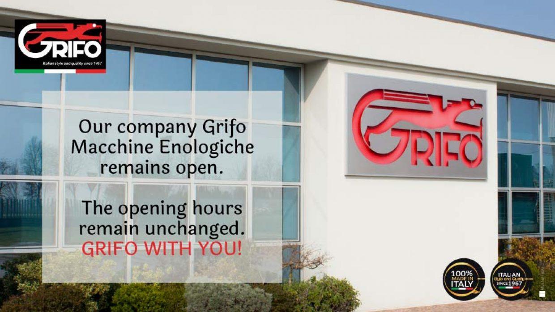 Grifo Marchetti is open!